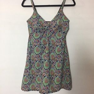 Lands End Swim Dress 8